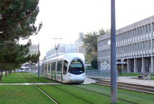 Quartier Lyon tramway