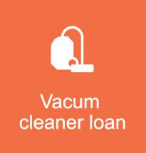 vacum cleaner loan