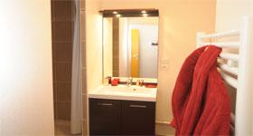 Salle de bain résidence central fac