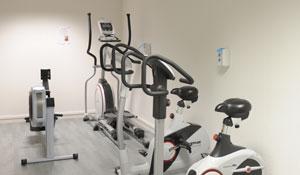Salle de fitness résidence Central Fac